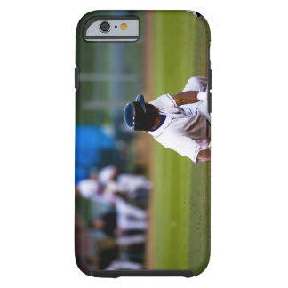 Baseball player sliding onto a base tough iPhone 6 case