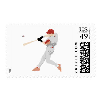 Baseball Player stamps