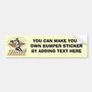 Baseball Player T-shirts and Gifts Bumper Sticker