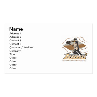 Baseball Player T-shirts and Gifts Business Card