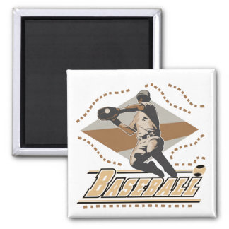 Baseball Player T-shirts and Gifts Magnet