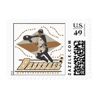 Baseball Player T-shirts and Gifts Postage Stamps