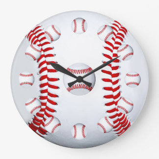 Baseball Player Team Sports Fan Gift Idea Clock