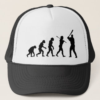 Baseball Player Trucker Hat