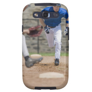 Baseball player trying to steal base samsung galaxy SIII case
