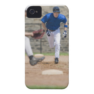 Baseball player trying to steal base Case-Mate iPhone 4 case
