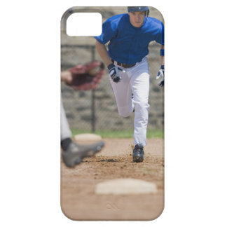Baseball player trying to steal base iPhone 5 cover