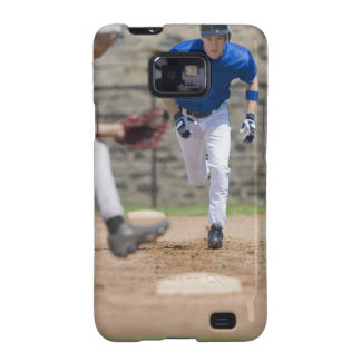 Baseball player trying to steal base samsung galaxy SII covers