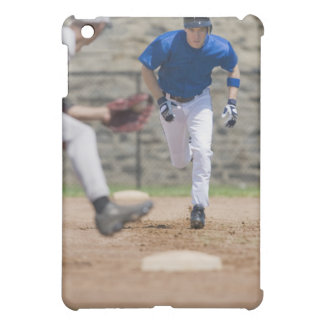 Baseball player trying to steal base iPad mini cover