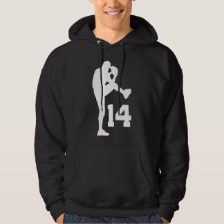 Baseball Player Uniform Number 14 Gift Pullover