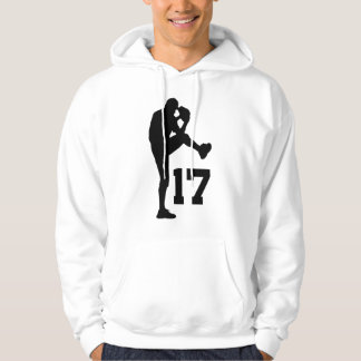 Baseball Player Uniform Number 17 Gift Hoodie