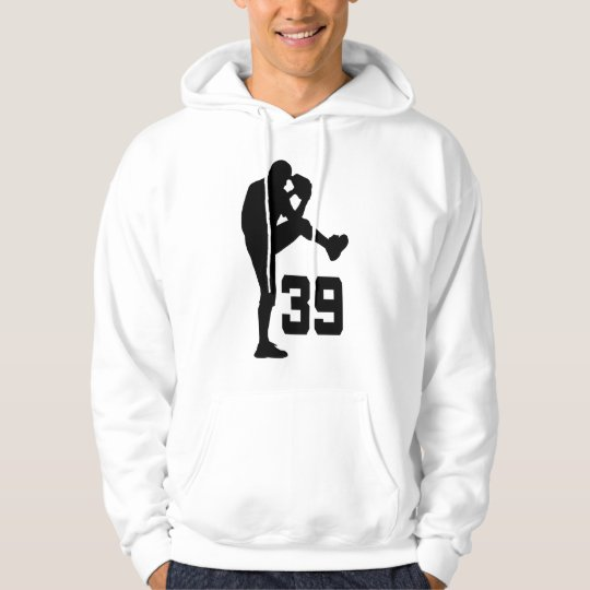 Baseball Player Uniform Number 39 Gift Hoodie