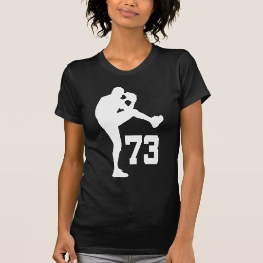 Baseball Player Uniform Number 73 Gift T-Shirt