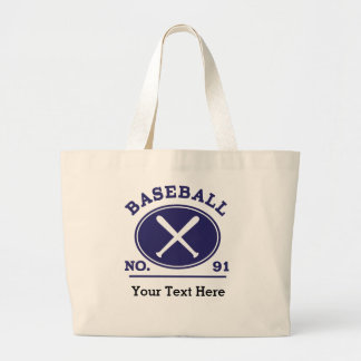 Baseball Player Uniform Number 91 Gift Idea Tote Bags