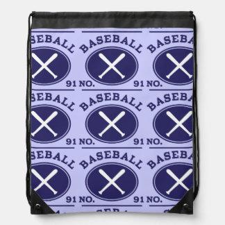 Baseball Player Uniform Number 91 Gift Idea Backpacks