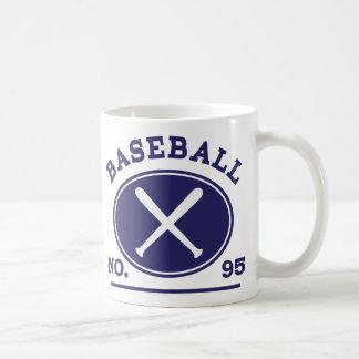 Baseball Player Uniform Number 95 Gift Idea Coffee Mug