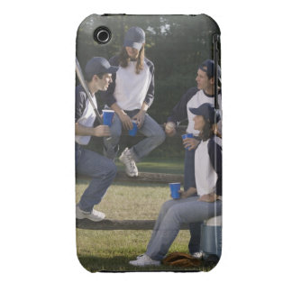 Baseball players Case-Mate iPhone 3 case