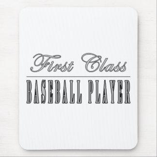 Baseball Players : First Class Baseball Player Mouse Pad
