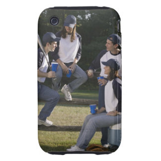 Baseball players tough iPhone 3 cover