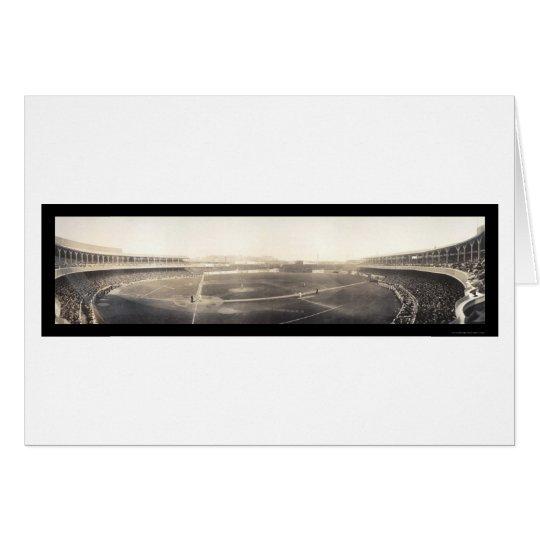 Baseball Polo Grounds Photo 1910 Card