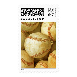 Baseball Postage Stamp