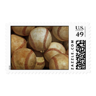 Baseball Postage Stamp
