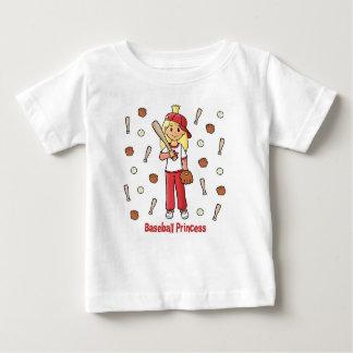 Baseball Princess Baby T-Shirt