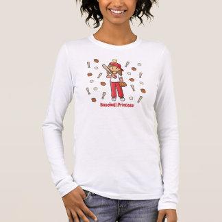 Baseball Princess Long Sleeve T-Shirt