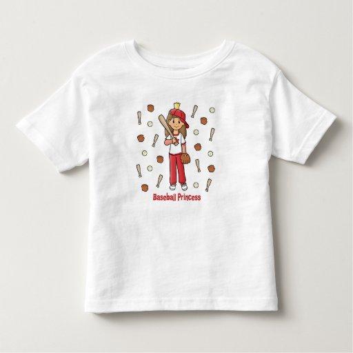 Baseball Princess T Shirt T-Shirt, Hoodie, Sweatshirt