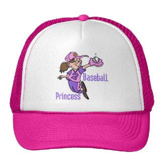 Baseball Princess T-shirts and Gifts Trucker Hat