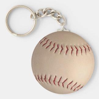 Baseball products basic round button keychain