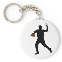 Baseball products keychain