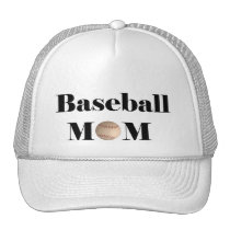 Baseball products trucker hat