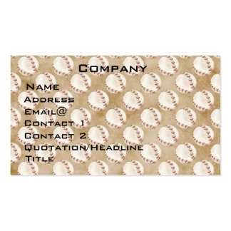 Baseball Profile Card