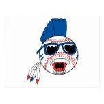 baseball punk vector design graphic postcard