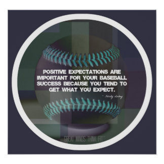 Baseball Quote Poster 016