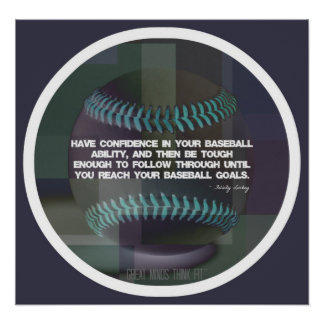 Baseball Quote Poster 017