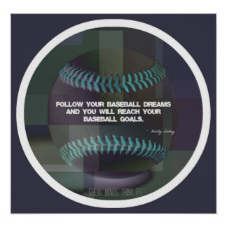 Baseball Quote Poster 018