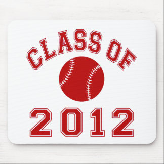 Baseball - Red Mousepads