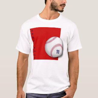 baseball red square, CARDINALS T-Shirt