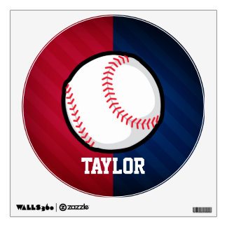 Baseball; Red, White, and Blue Wall Decor