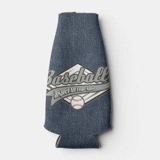 Baseball Respect Bottle Cooler