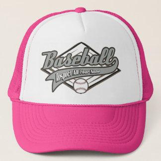 Baseball Respect Trucker Hat