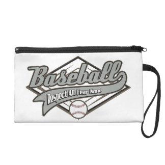 Baseball Respect Wristlet Purse