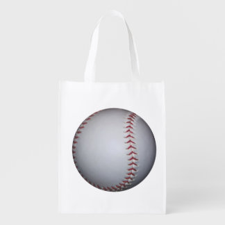 Baseball Reusable Grocery Bag