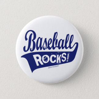 Baseball Rocks! Button