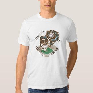 Baseball Rocks Catcher T-Shirt