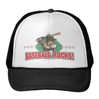 Baseball Rocks Diamond Trucker Hat