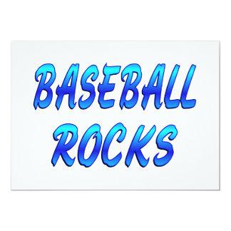 BASEBALL ROCKS INVITES