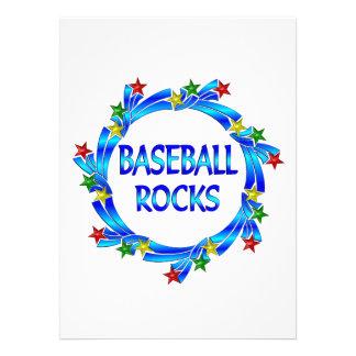 Baseball Rocks Personalized Invite